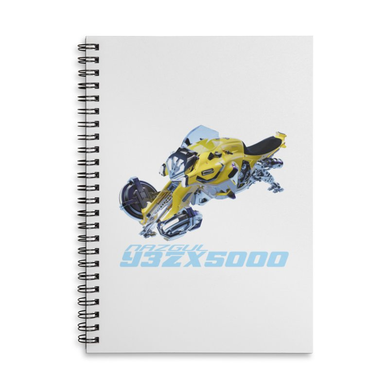 Nazgul Hoverbike Color Accessories Notebook by Sergio Seabra's Shop