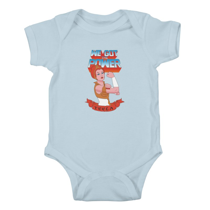 We got the power Kids Baby Bodysuit by seronores's Artist Shop