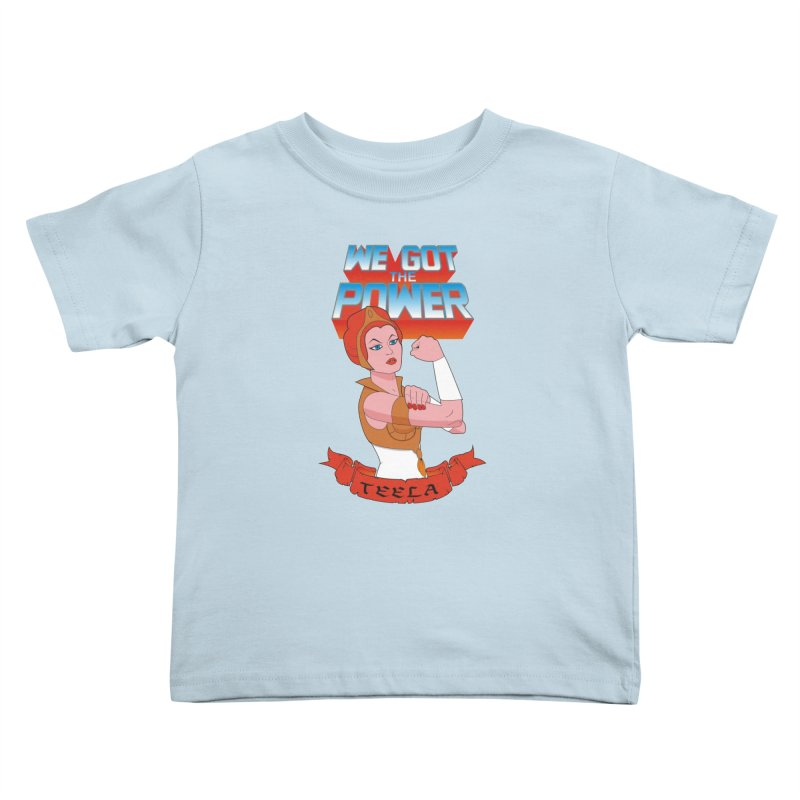 We got the power Kids Toddler T-Shirt by seronores's Artist Shop