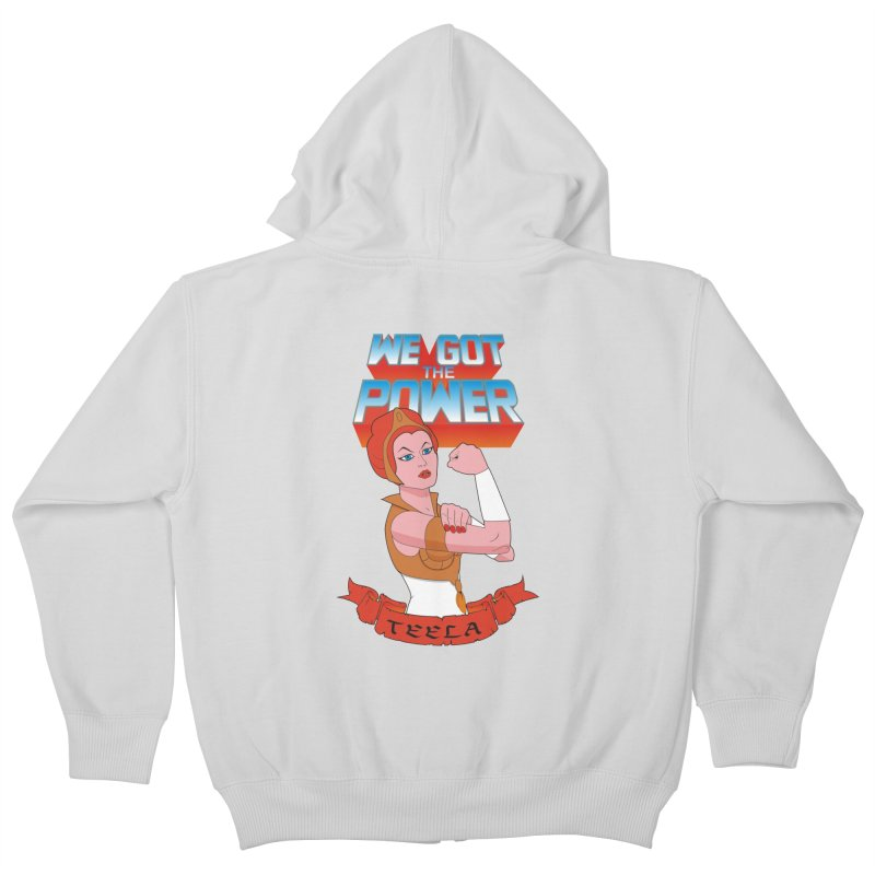 We got the power Kids Zip-Up Hoody by seronores's Artist Shop