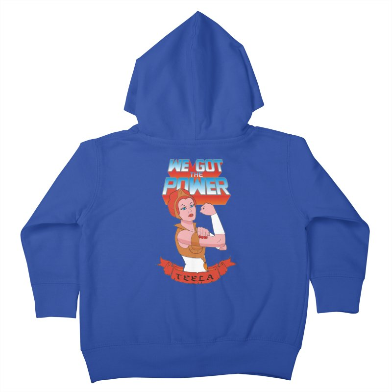 We got the power Kids Toddler Zip-Up Hoody by seronores's Artist Shop