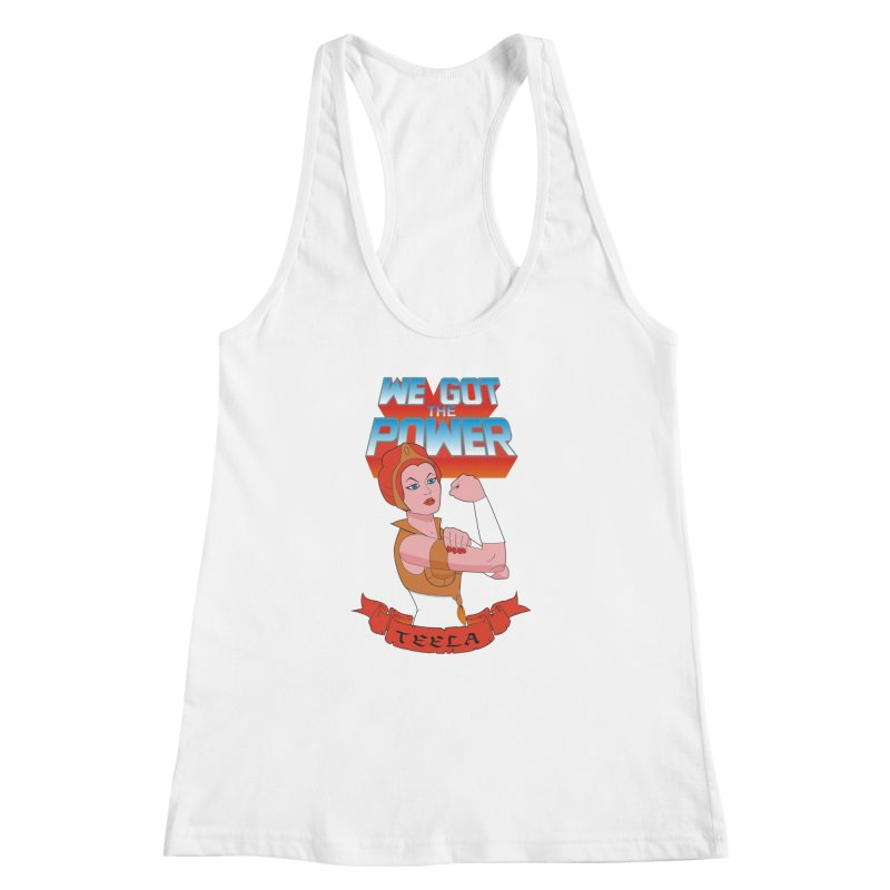 We got the power Women's Racerback Tank by seronores's Artist Shop