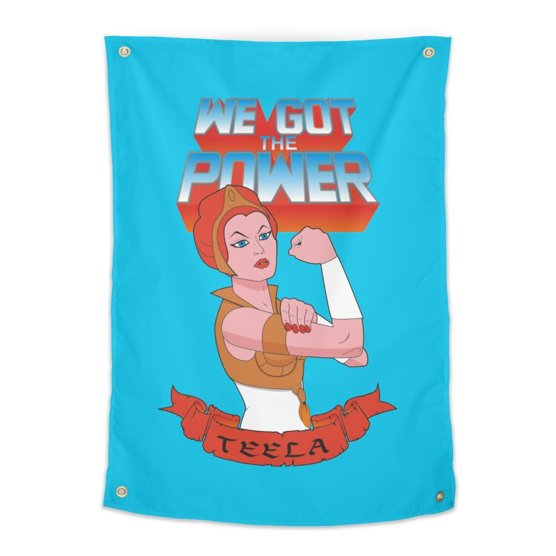 We got the power Home Tapestry by seronores's Artist Shop