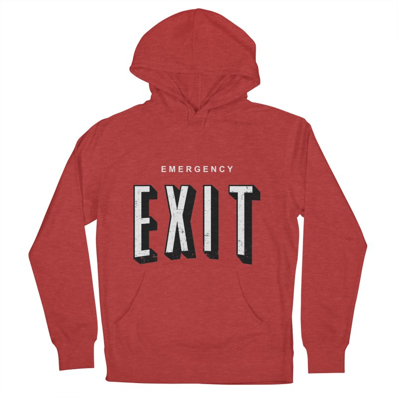 emergency exit Women's Pullover Hoody by seronores's Artist Shop