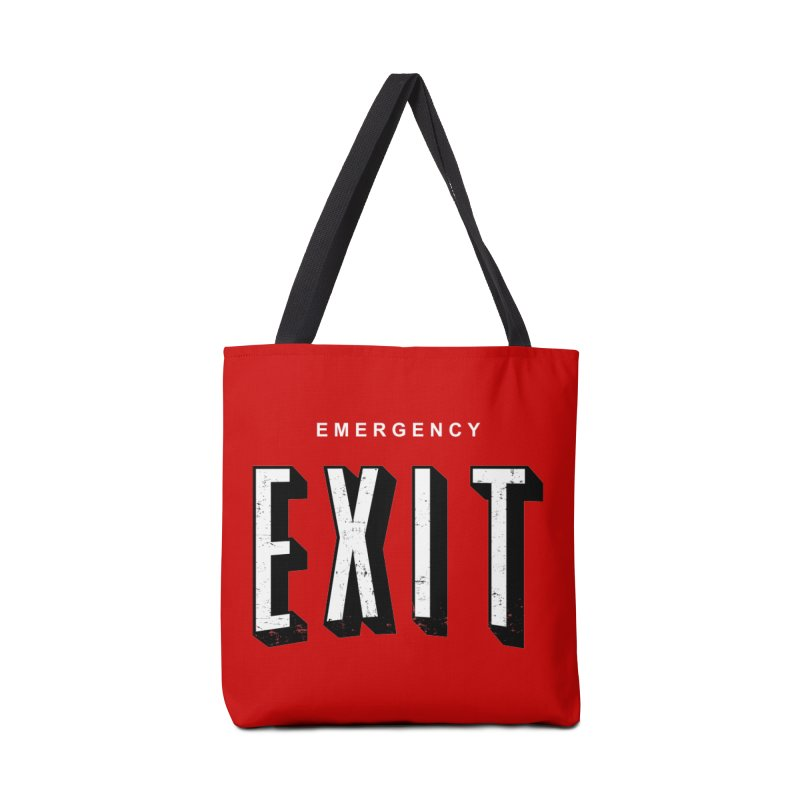 emergency exit Accessories Bag by seronores's Artist Shop