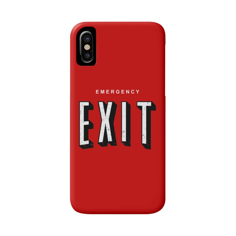 emergency exit Accessories Phone Case by seronores's Artist Shop