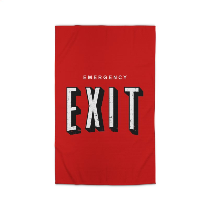 emergency exit Home Rug by seronores's Artist Shop