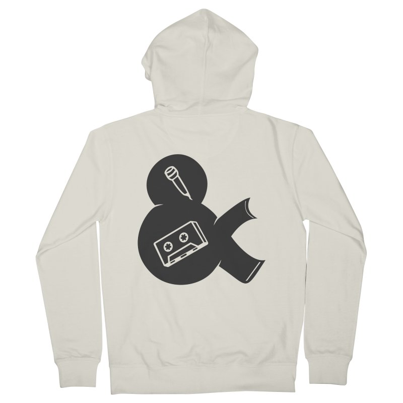 make a tape Men's Zip-Up Hoody by seronores's Artist Shop
