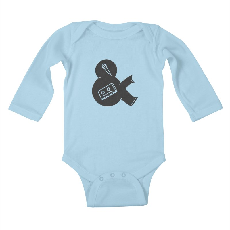 make a tape Kids Baby Longsleeve Bodysuit by seronores's Artist Shop