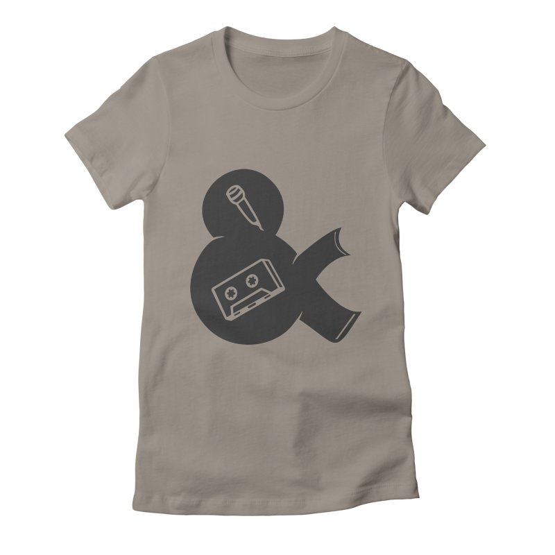 make a tape Women's Fitted T-Shirt by seronores's Artist Shop