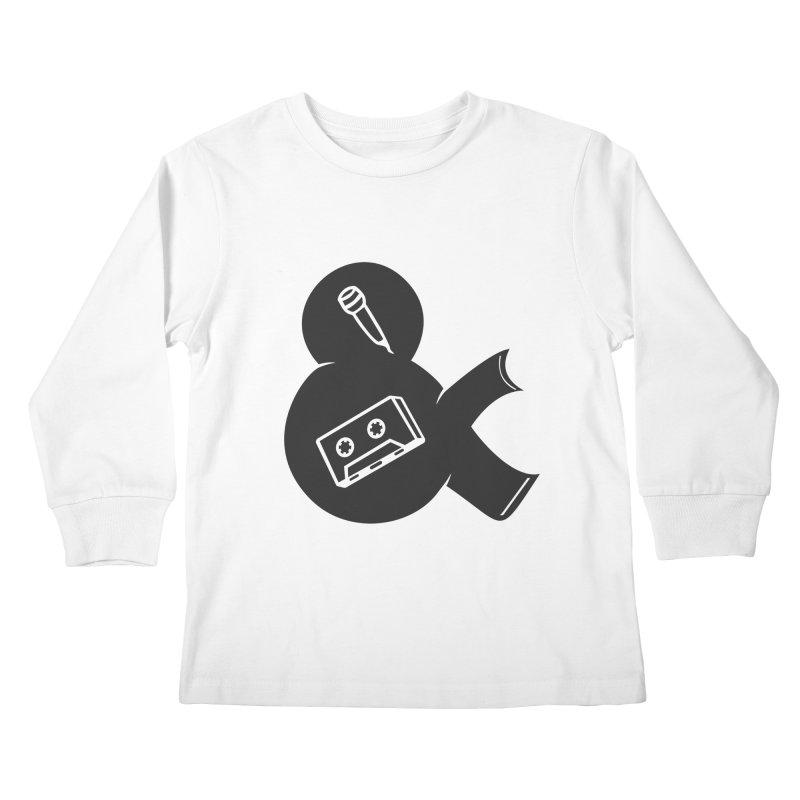 make a tape Kids Longsleeve T-Shirt by seronores's Artist Shop