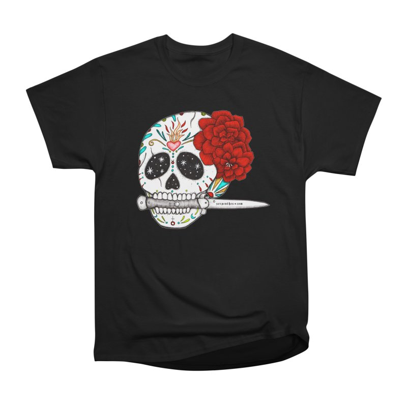 SWITCHBLADE Men's Heavyweight T-Shirt by serpenthes's Artist Shop