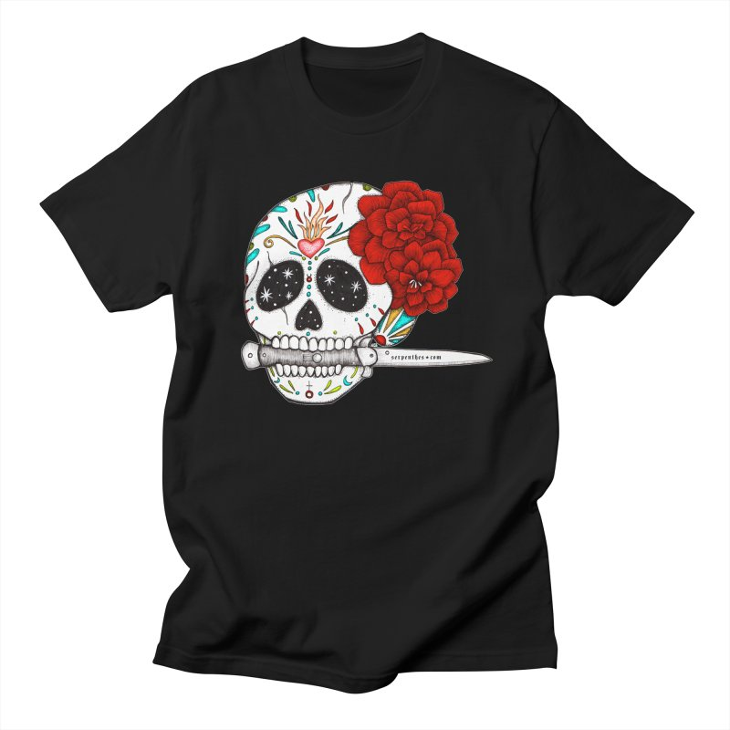 SWITCHBLADE Men's Regular T-Shirt by serpenthes's Artist Shop