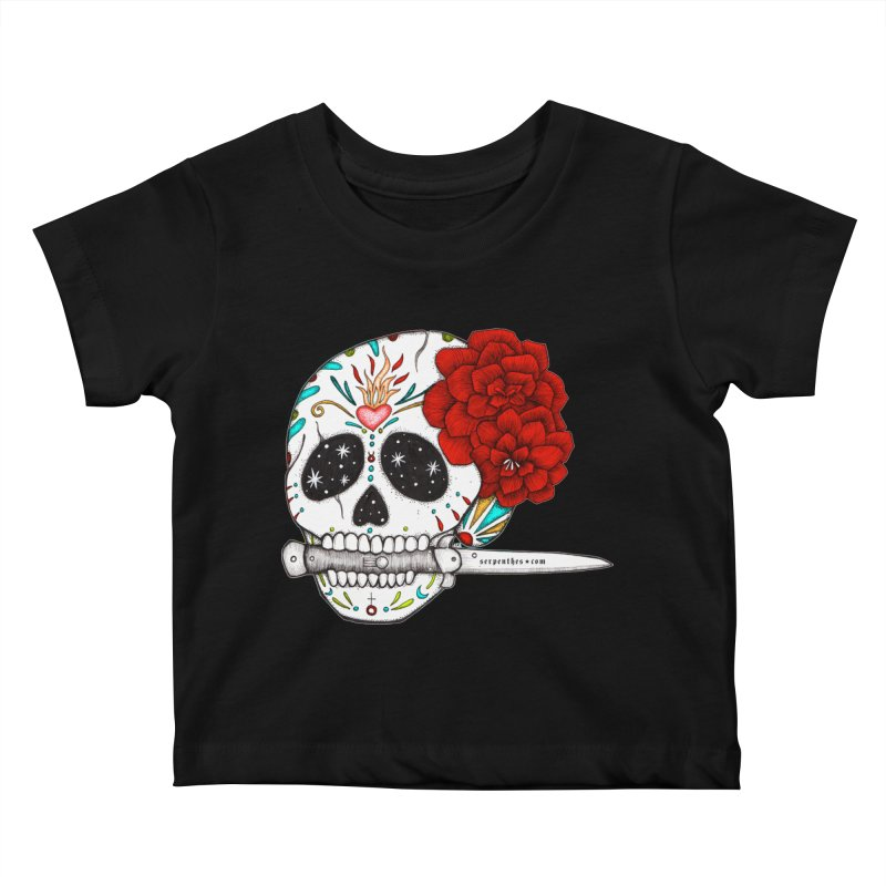 SWITCHBLADE Kids Baby T-Shirt by serpenthes's Artist Shop