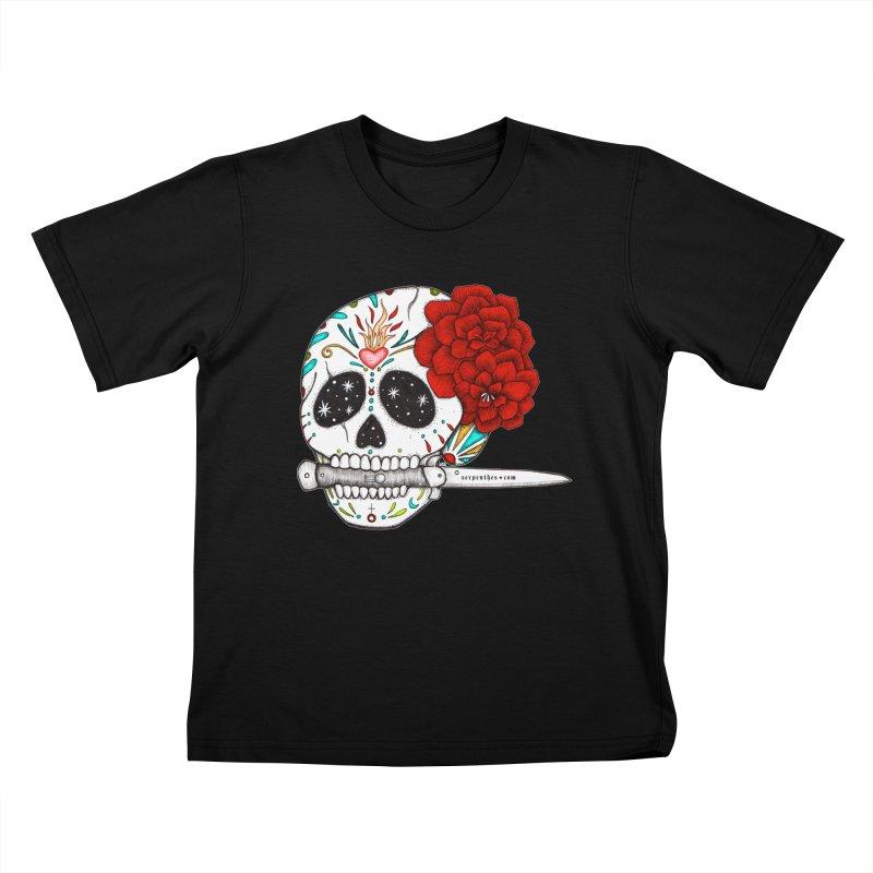SWITCHBLADE Kids T-Shirt by serpenthes's Artist Shop