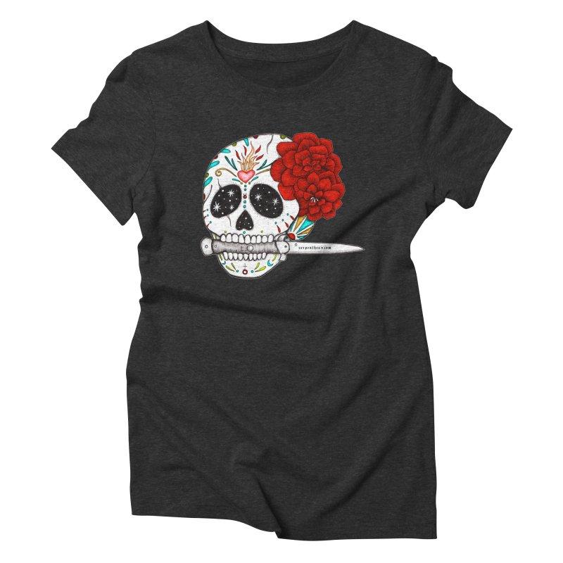 SWITCHBLADE Women's Triblend T-Shirt by serpenthes's Artist Shop