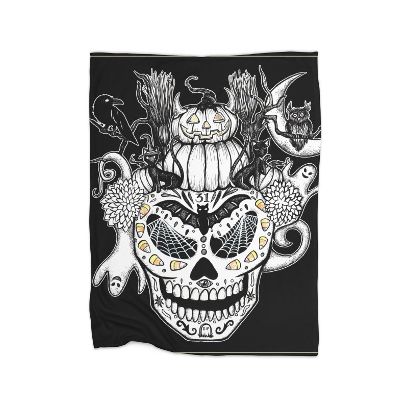 This Is Halloween Home Blanket by serpenthes's Artist Shop