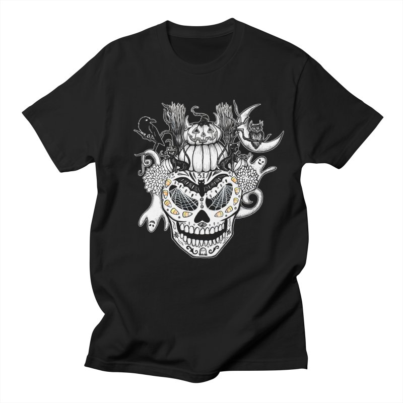 This Is Halloween in Men's Regular T-Shirt Black by serpenthes's Artist Shop