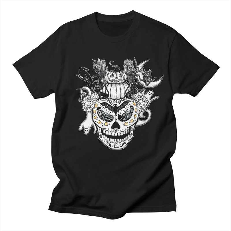 This Is Halloween in Men's T-Shirt Black by serpenthes's Artist Shop