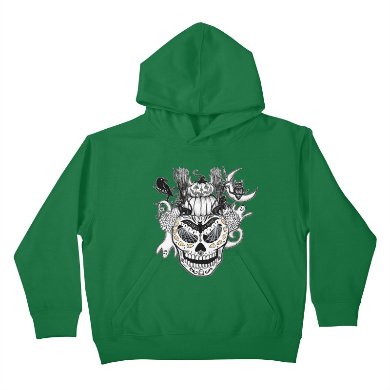 This Is Halloween Kids Pullover Hoody by serpenthes's Artist Shop