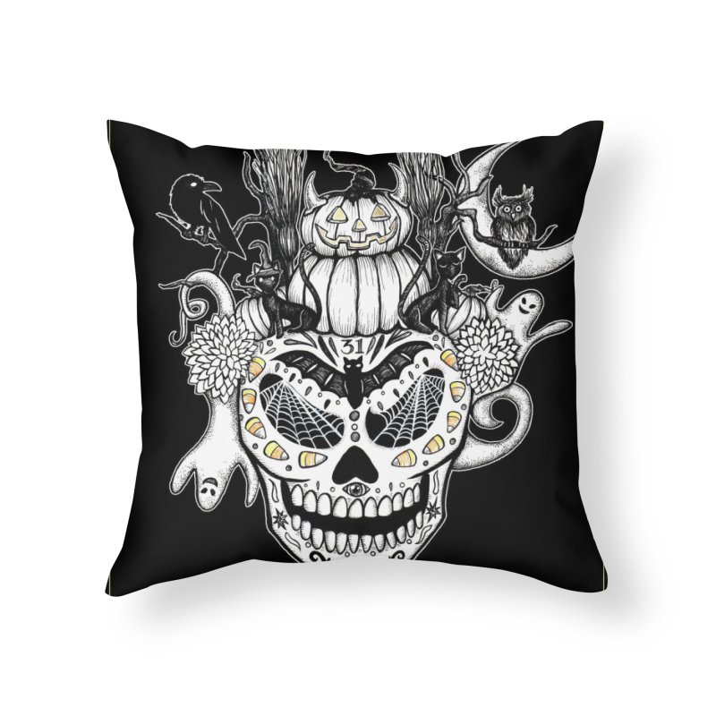 This Is Halloween Home Throw Pillow by serpenthes's Artist Shop