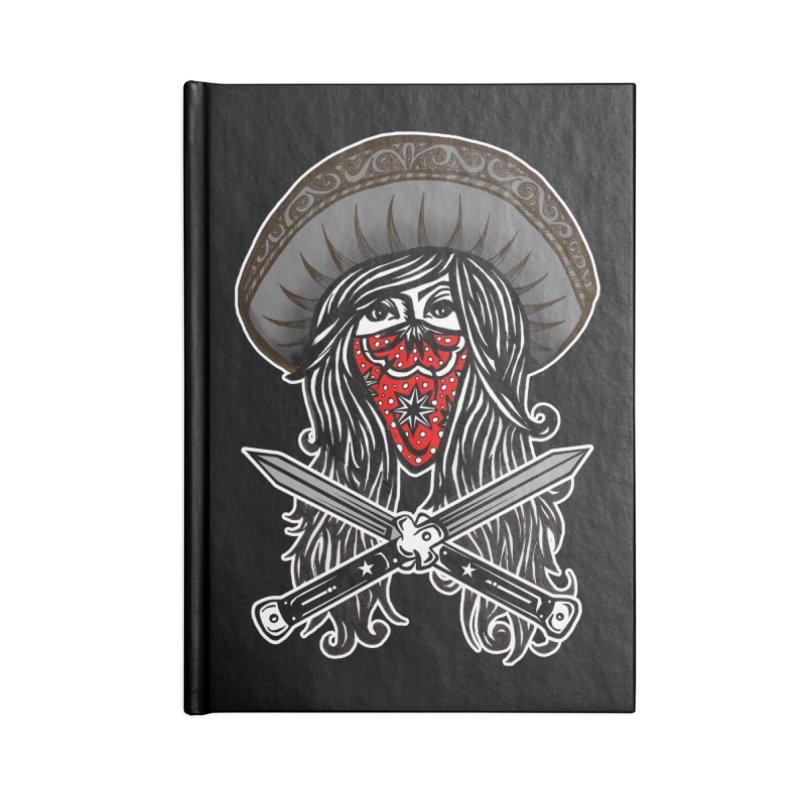 LA BANDIDA OG Accessories Notebook by serpenthes's Artist Shop