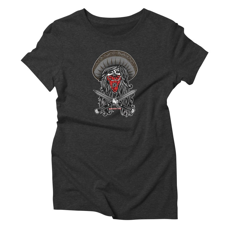 LA BANDIDA OG Women's T-Shirt by serpenthes's Artist Shop