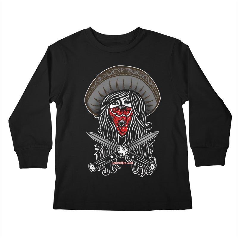 LA BANDIDA OG Kids Longsleeve T-Shirt by serpenthes's Artist Shop