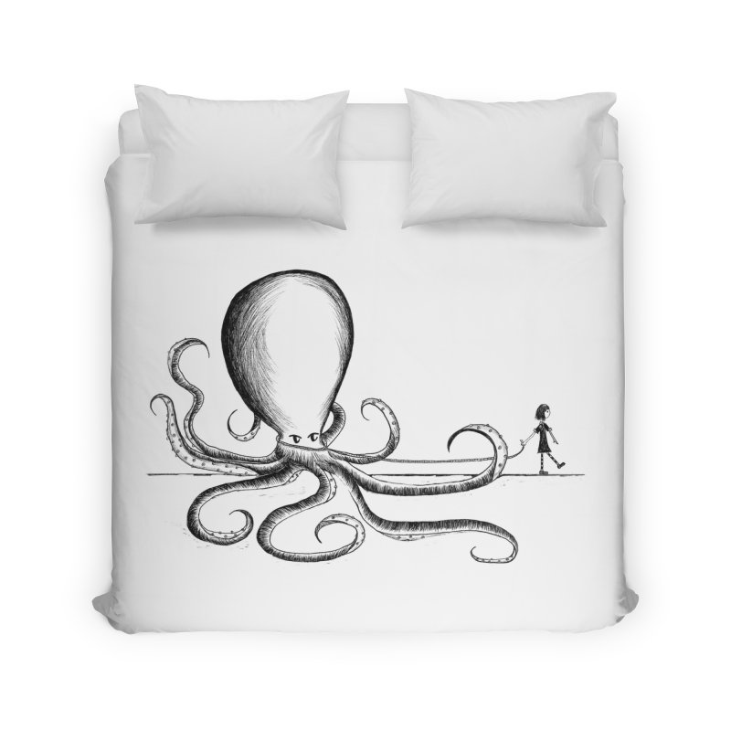 ABBY and SAM (don't call her Samantha!) Home Duvet by serpenthes's Artist Shop