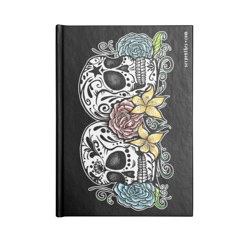 DOS CALAVERAS Accessories Notebook by serpenthes's Artist Shop