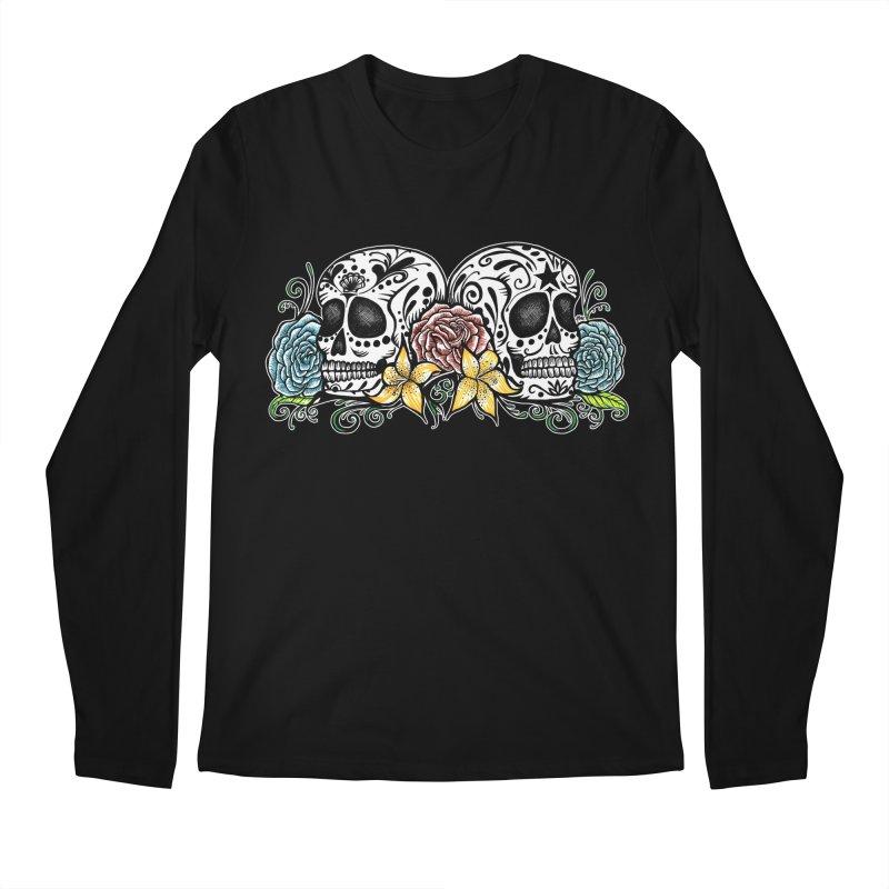 DOS CALAVERAS Men's Regular Longsleeve T-Shirt by serpenthes's Artist Shop