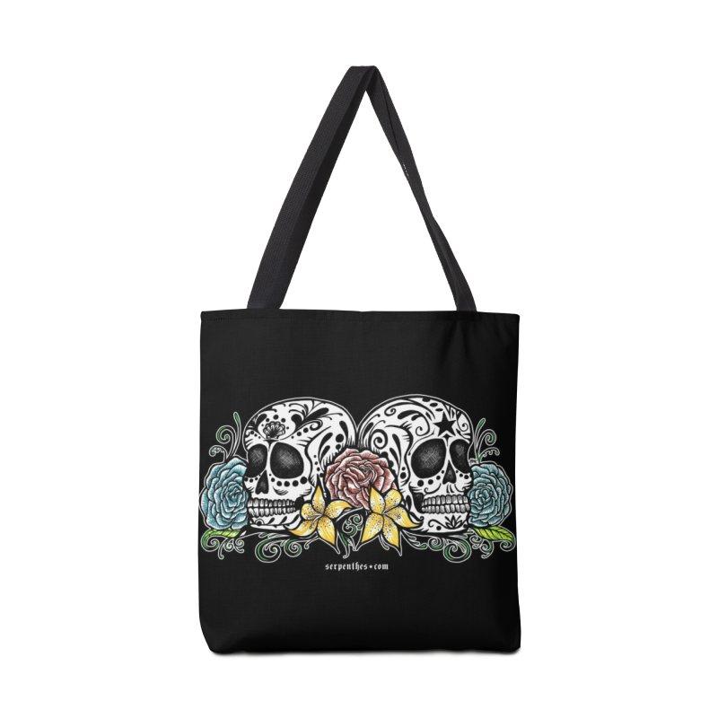 DOS CALAVERAS Accessories Bag by serpenthes's Artist Shop