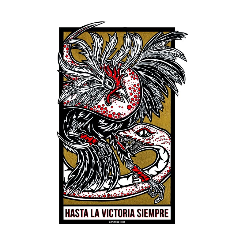 Hasta La Victoria Siempre by serpenthes's Artist Shop