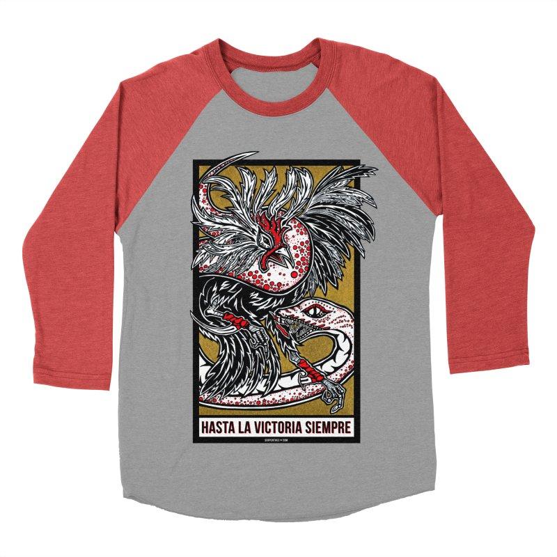 Hasta La Victoria Siempre Men's Baseball Triblend T-Shirt by serpenthes's Artist Shop