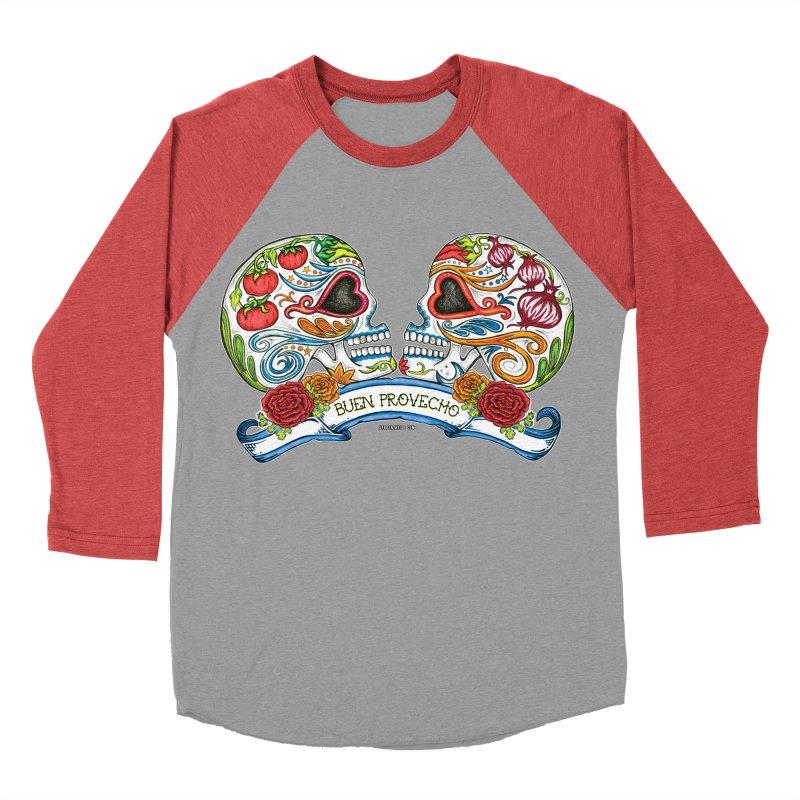 Buen Provecho Men's Baseball Triblend T-Shirt by serpenthes's Artist Shop