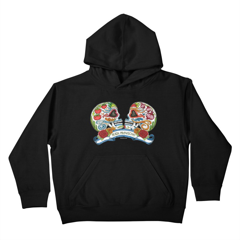 Buen Provecho Kids Pullover Hoody by serpenthes's Artist Shop