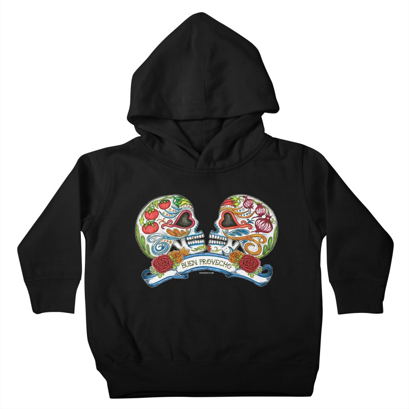 Buen Provecho Kids Toddler Pullover Hoody by serpenthes's Artist Shop