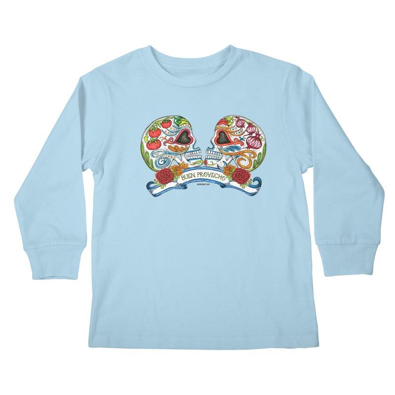 Buen Provecho Kids Longsleeve T-Shirt by serpenthes's Artist Shop