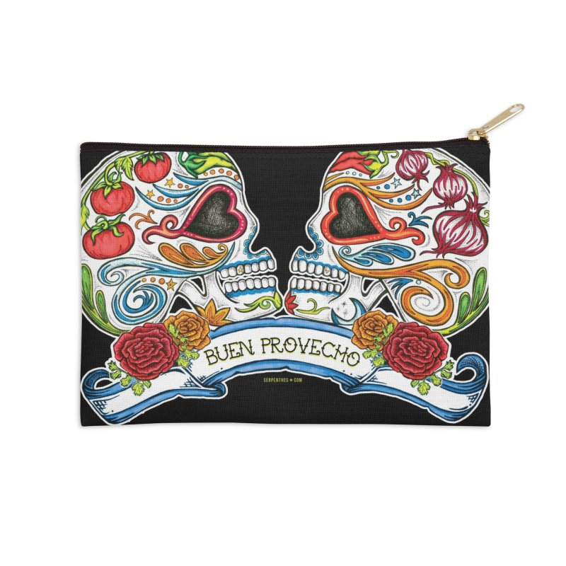 Buen Provecho Accessories Zip Pouch by serpenthes's Artist Shop