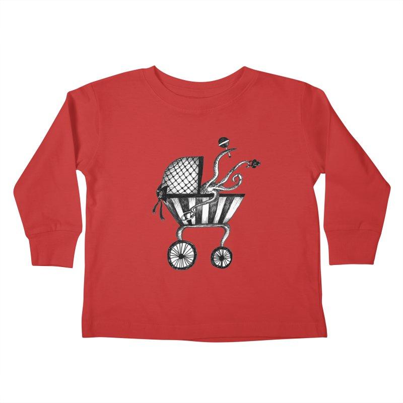 Bebe Monster Kids Toddler Longsleeve T-Shirt by serpenthes's Artist Shop