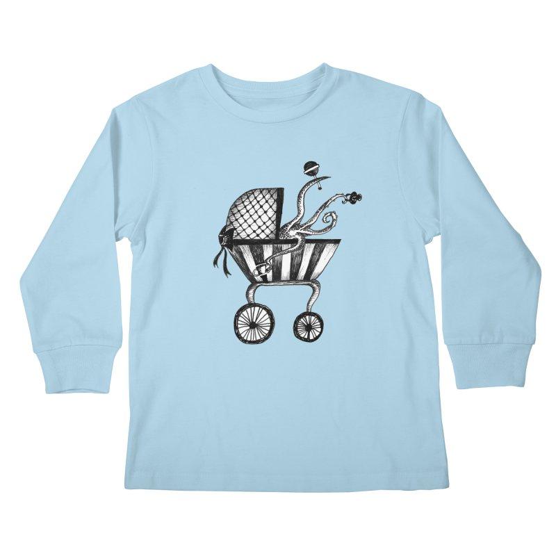 Bebe Monster Kids Longsleeve T-Shirt by serpenthes's Artist Shop