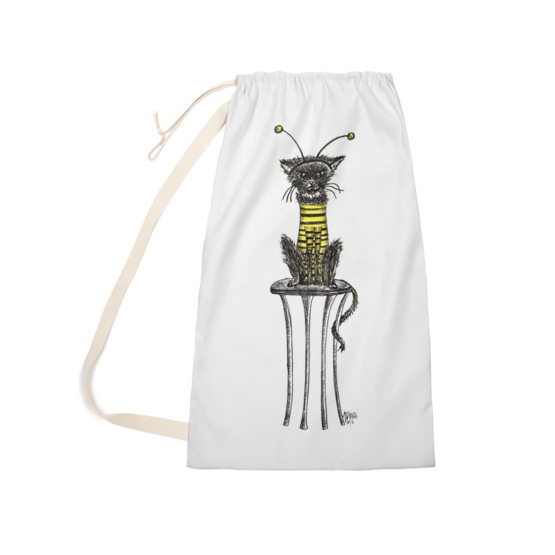 HE LOVES IT! Accessories Laundry Bag Bag by serpenthes's Artist Shop