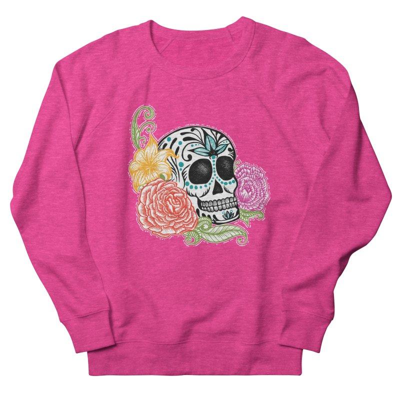 Calavera y Rosas Women's Sweatshirt by serpenthes's Artist Shop