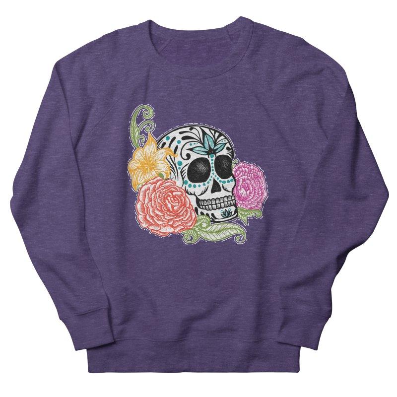 Calavera y Rosas Men's Sweatshirt by serpenthes's Artist Shop