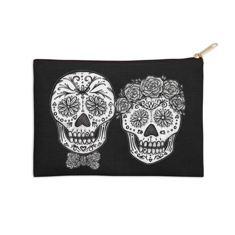 EL y ELLA in Zip Pouch by serpenthes's Artist Shop