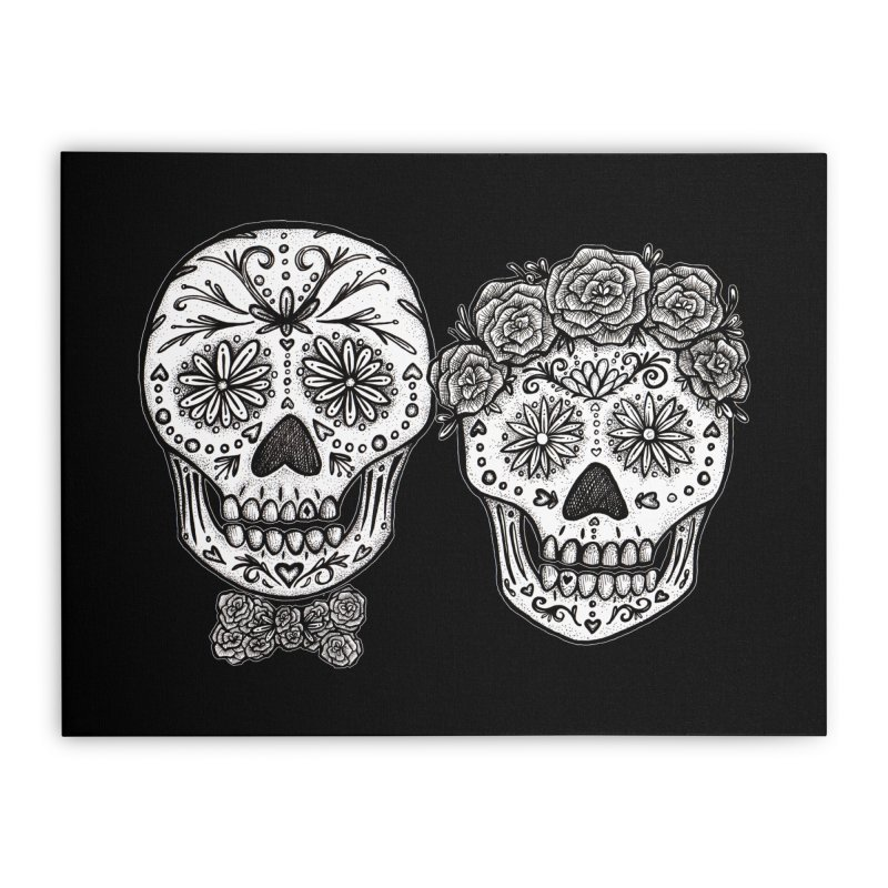 EL y ELLA Home Stretched Canvas by serpenthes's Artist Shop