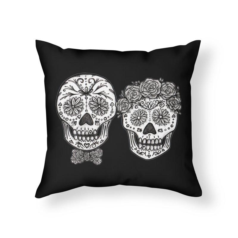 EL y ELLA Home Throw Pillow by serpenthes's Artist Shop