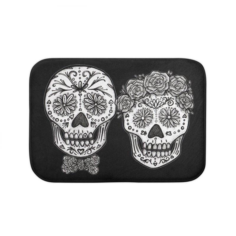 EL y ELLA Home Bath Mat by serpenthes's Artist Shop