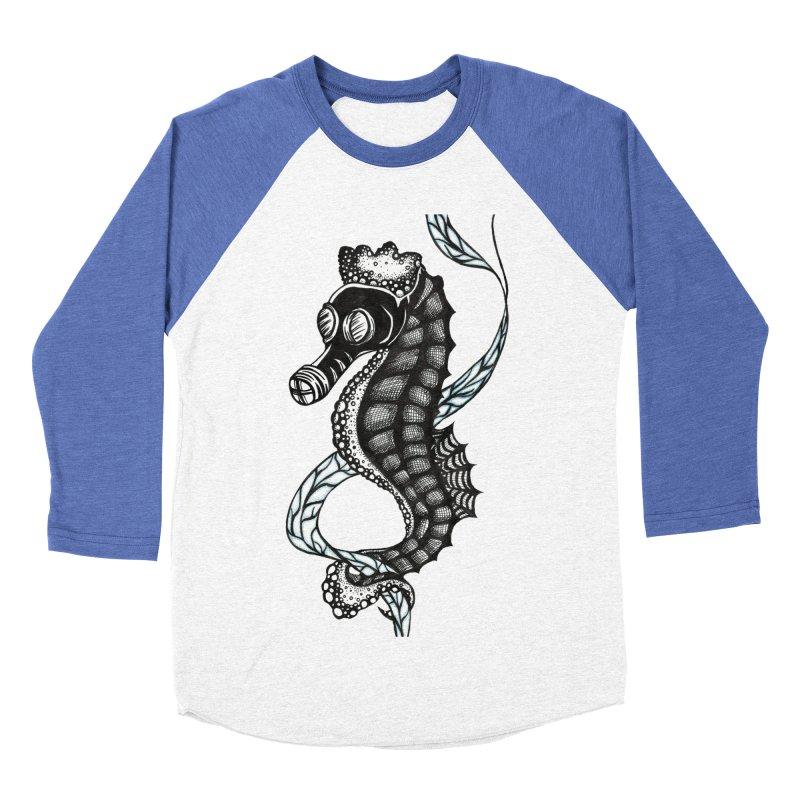 Dockweiler Beach Men's Baseball Triblend T-Shirt by serpenthes's Artist Shop
