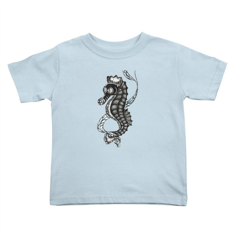 Dockweiler Beach Kids Toddler T-Shirt by serpenthes's Artist Shop